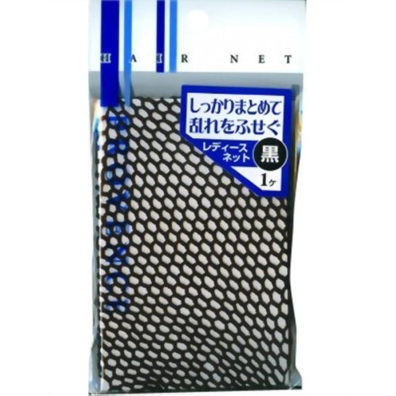 印象的アーティストアラートSHO-BI レディスネット 黒 SPV40067 1個入 × 6個セット