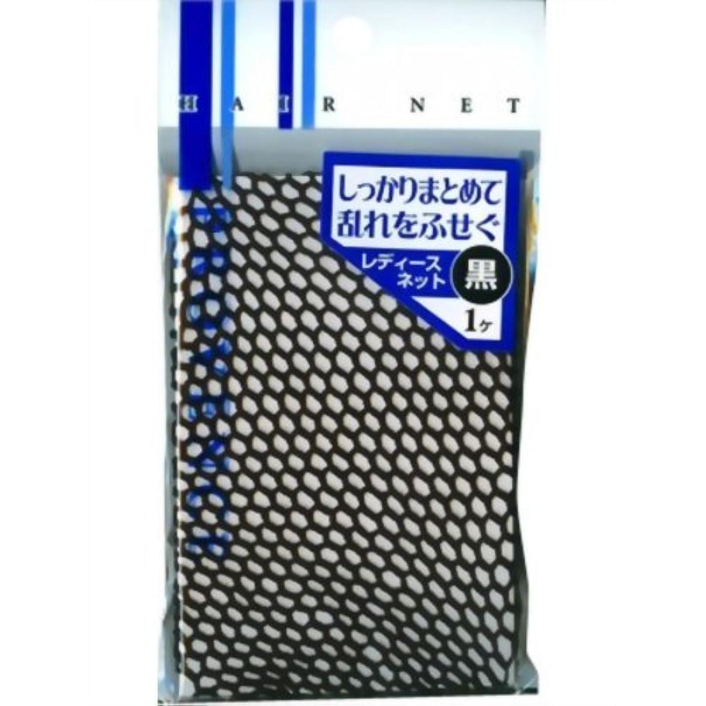 病な配送電圧SHO-BI レディスネット 黒 SPV40067 1個入 × 6個セット