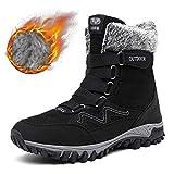 Sin marca Zapatos De Hombre Invierno Cálido Botas De Nieve Cálidas Zapatos De Invierno Al Aire Libre Espesamiento Viaje Patín Al Aire Libre One Inside Zapatos De Hombre Altos