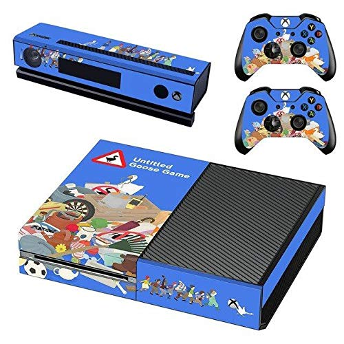 KALINDA MODI Xbox One Console and 2 Controllers Skin Set - Funny game – Xbox One Vinyl