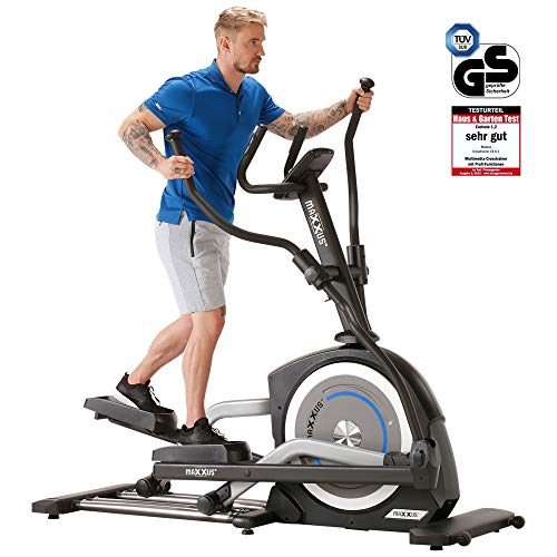 MAXXUS Crosstrainer CX 6.1 mit LCD-Display und Bluetooth –...