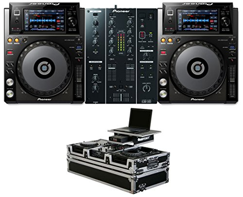 Best Review Of 2x Pioneer XDJ-1000 + DJM-350 + Odyssey Coffin