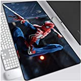 Spiderman juego alfombrilla de ratón Superhéroe Marvel gran tamaño del teclado extendido ratón alfombrilla antideslizante juego Mousepad for Ministerio del Interior PC de escritorio Tabla alfombrilla