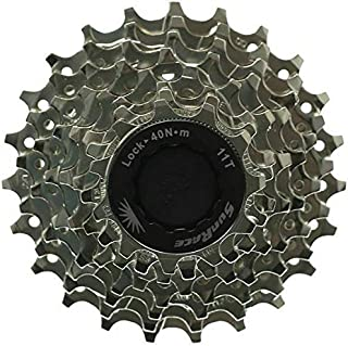 SunRace 8 Speed Road Bike Cassette 11-23 Compatible with (Shimano or Sram)