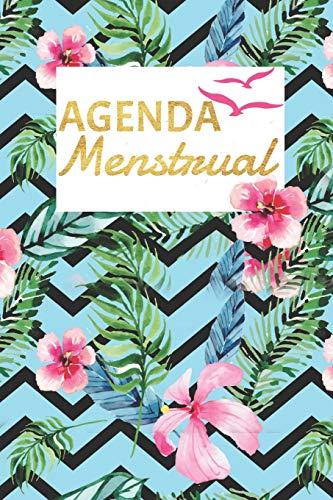 Agenda Menstrual: Calendario Para Ciclo Menstrual / Periodo Diario / Espanol / Para Escribir En / 12 Meses / Mi Primera Menstruacion