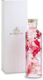 [フラワリウム] ハートボトル フラワーギフト 誕生日プレゼント 贈り物 ハーバリウム ローズピンク