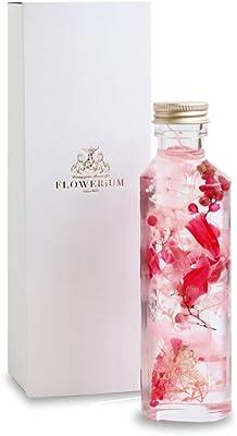 [フラワリウム] フラワーギフト 花 贈り物 誕生日プレゼント 女性 ホワイトデー 贈り物 母の日 ハーバリウム ハートボトル ローズピンク