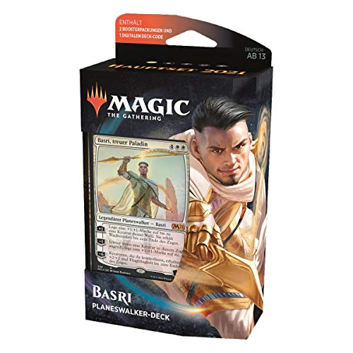 MTG Hauptset 2021 Planeswalker Deck Deutsch, Basri, treuer Paladin, Magic: The Gathering