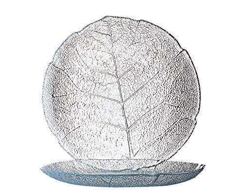 Luminarc ARC 10274 Aspen Teller flach, 19.1cm, Glas, transparent, 6 Stück
