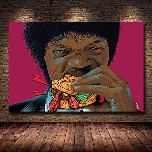 AQgyuh Puzzle 1000 Piezas Pintura de Arte de película clásica de Pulp Fiction Puzzle 1000 Piezas clementoni Rompecabezas de Juguete de descompresión intelectual50x75cm(20x30inch)