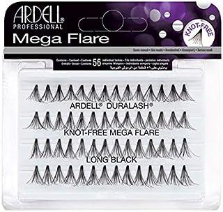 (6 Pack) ARDELL Duralash Knot Free Mega Flare Individual Black Lashes Long
