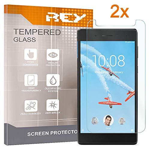 Screen Protector for LENOVO TAB 7 ESSENTIAL 7304F TAB7 7304F7 TAB4 7 ESSENTIAL 73024F, Tempered Glass Film, Premium quality, [Pack 2x]