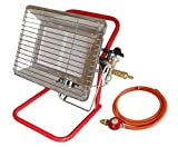 Portable Propane Gas Heater Site & Workshop Heater Spark Ignition Flame Failure