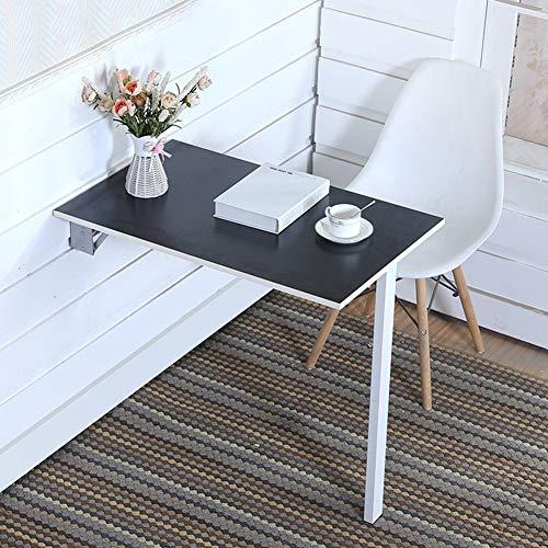 WYJW Inklapbare eettafel Inklapbare eettafel Computer Inklapbare tafel zwarte koffiemachine Vouw Zwart (Maat: 80 * 60 cm)