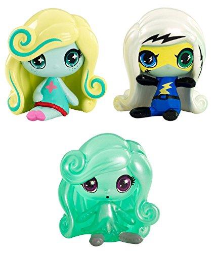 Monster High Minis pack 3 Frankie Stein, Lagoona Blue & Twyla (expédiés à partir du Royaume-Uni)