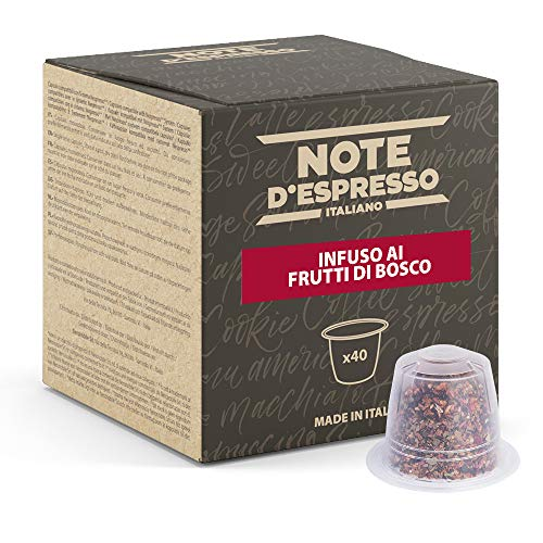 Note d'Espresso - Cápsulas de Tisana , Exclusivamente compatibles con cafeteras Nespresso, frutas...