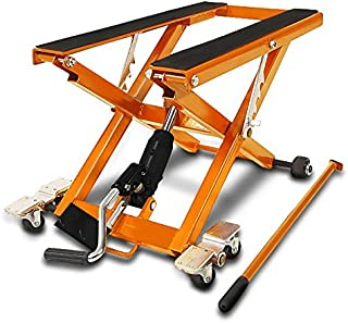 ConStands Motorcycle Scissor Lift XL for Harley Sportster Forty-Eight 48 Special blue