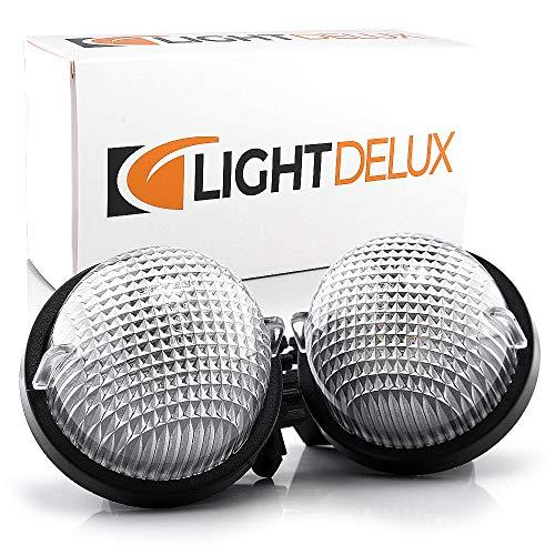 LIGHTDELUX Repuesto para iluminación de matrícula LED, sin mensajes de error con certificado E V-032301