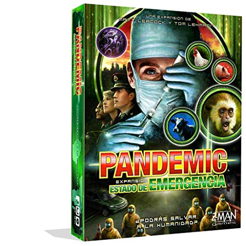Z-Man Games- Pandemic Estado de Emergencia - Juego de Mesa, Color (ZM7113ES)