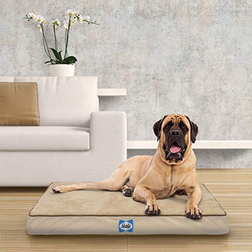 Sealy Orthopedic Dog Bed Tan Jumbo (38