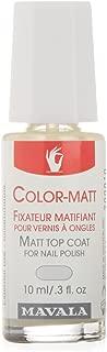 Mavala Color Matt Top Coat for Unisex - 0.3 oz, Pack of 1