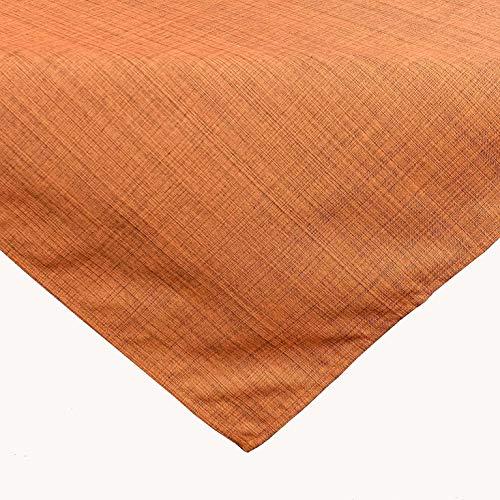 Kamaca Outdoor Tischdecke Gartentischdecke Garden - die perfekte Textile Decke für drinnen und draußen fleckabweisend witterungsbeständig knitterfrei (Terra - meliert, Tischdecke 90x90 cm)