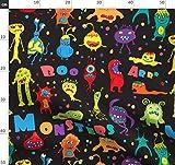 Monster, Halloween, Ausländer, Tier, Bizarr, Bestie Stoffe