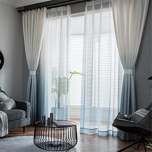 wangchong Neue minimalistische Moderne Vorhang nordische Schlafzimmer Beschattung