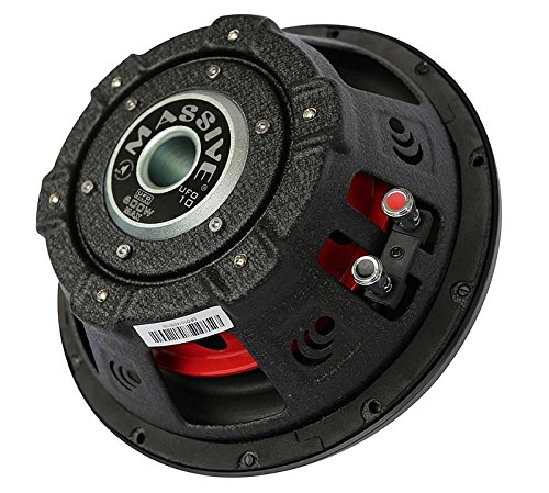 Massive Audio SUMMOXL104-10 Inch Car Audio 3000 Watt SUMMOXL Series Competition Subwoofer, Dual 4 Ohm, 2 Inch Voice Coil. Sold Individually.