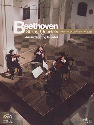 Beethoven, Ludwig van - Streichquartette Op. 18 Nr.4, Op. 59 Nr.1, Op. 131 (NTSC)