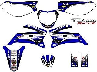 Team Racing Graphics kit compatible with Yamaha 2008-2019 TTR 110, ANALOG Complete Kit