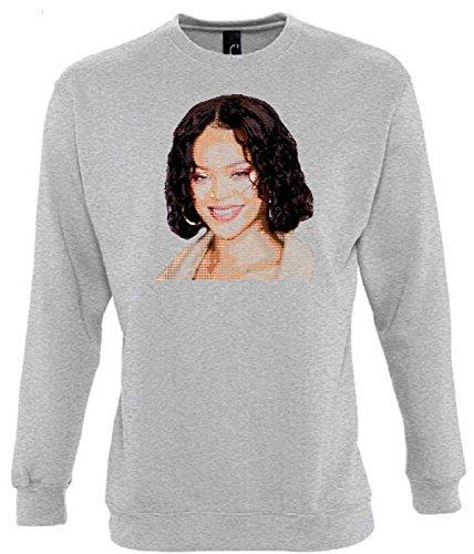 Unbekannt Rihanna Funny Mens & Ladies/Herren & Damen Unisex Sweatshirts (L)