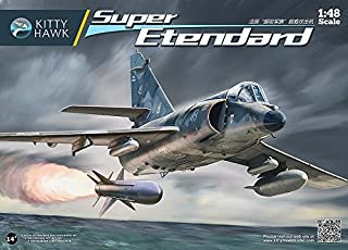 KTH80138 1:48 Kitty Hawk Super Etendard [MODEL BUILDING KIT] by Kitty Hawk