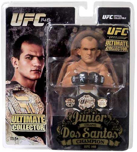 UFC Ultimate Collector figures version champion Junior dos Santos (japan import)