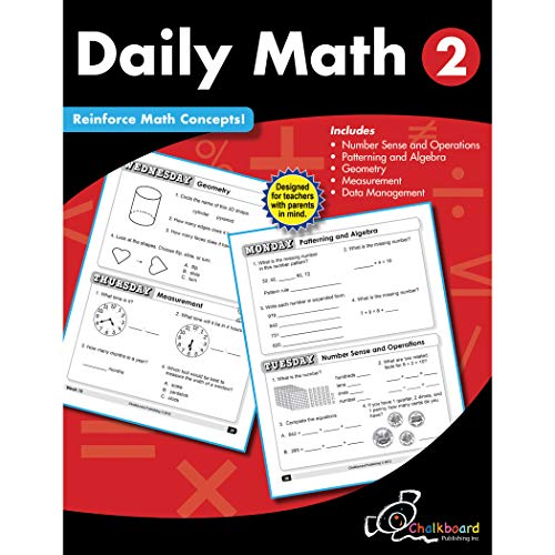 Creative Teaching Press CTP8188 Daily Math Workbook, Grade 2