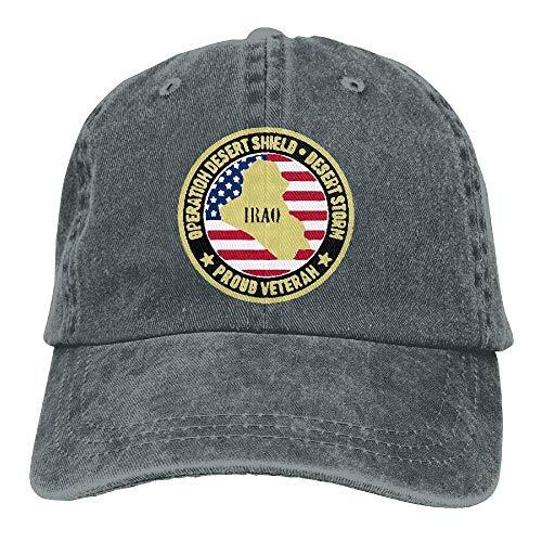 Voxpkrs Desert Storm Veteran Unisex Baseball Cap Cowboy Hat Dad Hats Trucker Hat ABCDE09716