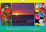 Farbzauber in Trilogien (Wandkalender 2020 DIN A4 quer)