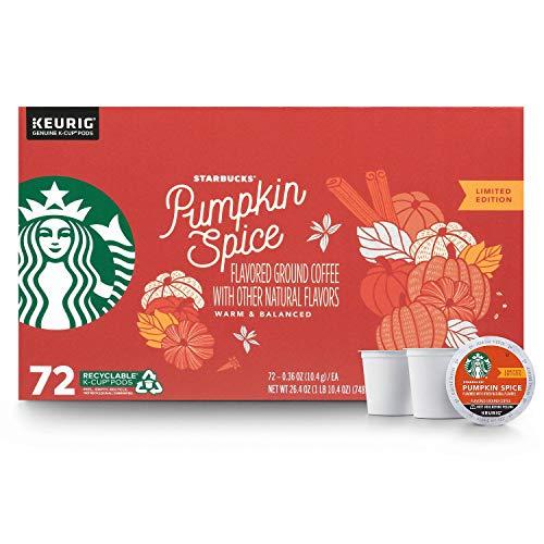 Starbucks Pumpkin Spice Flavored Coffee