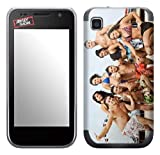 Zing Revolution MS-JYSH20275 Jersey Shore - Ferris Wheel Cell Phone Cover Skin for Samsung Galaxy S 4G (SGH-T959V)