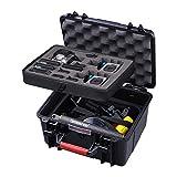 Smatree GA700-3 Estuche rígido Resistente al Agua Compatible con GoPro Hero 8/7/6/5/4/3 Plus / 3 / GoPro Hero 2018 / dji OSMO Action Camera (cámara y Accesorios no incluidos)