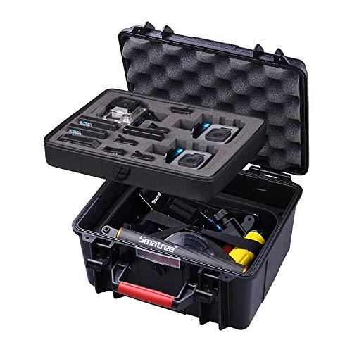Smatree® Floaty SmaCase GA700-3 wasserdichte Rugged Hard Taschen für DJI OSMO Action/Gopro Hero 9/8/7/6/ 5/4/3/3+,Hero 2 HD Kamera