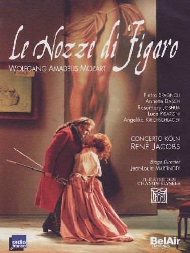 Wolgang Amadeus Mozart - Le Nozze di Figaro / Spagnoli, Dasch, Joshua, Pisaloni, Kirchschlager, Jacobs, Concerto Köln, Martinoty (Théâtre des Champs-Elysées 2005) [2 DVDs]