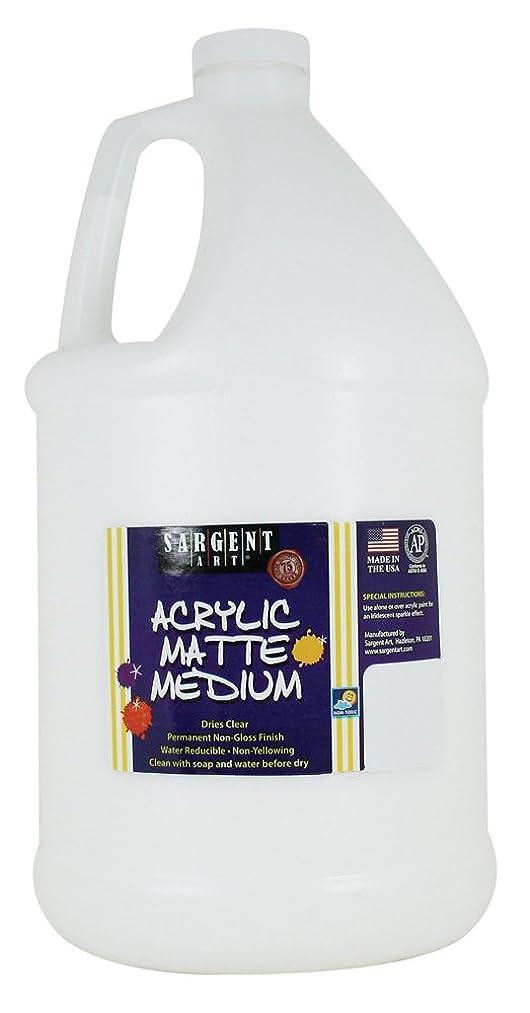 Sargent Art 22-8819 Gallon Acrylic Matte Medium