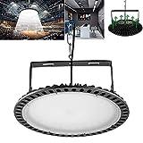 Yuanline 200W UFO Iluminación LED Alta, 120 grados Lámpara Industrial Ultra...