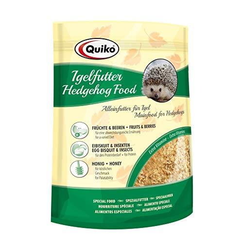 Quiko Igelfutter 3 x 500g - Hochwertige Vollnahrung - Speziell auf die Bedürfnisse des Igels abgestimmt