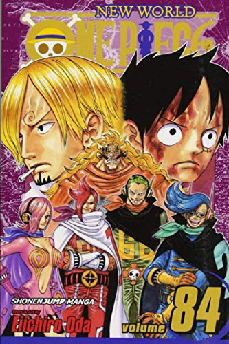 """Composition Notebook: One Piece Vol. 84 Anime Journal-Notebook, College Ruled 6"""" x 9"""" inches, 120 Pages"""