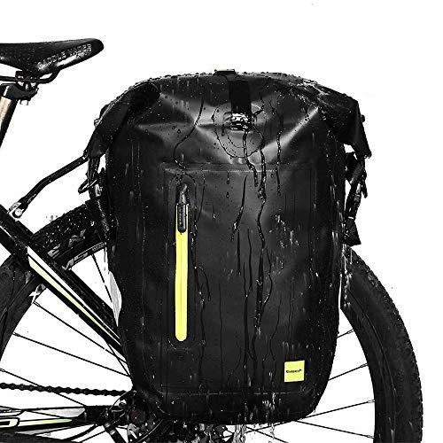 LARRY SHELL Bolsa de Maletas Impermeables para Bicicleta de