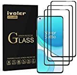 ivoler 3 Unidades Protector de Pantalla para OnePlus 9R / OnePlus 8T, [Cobertura Completa] Cristal Vidrio Templado Premium, [Dureza 9H] [Anti-Arañazos] [Sin Burbujas]