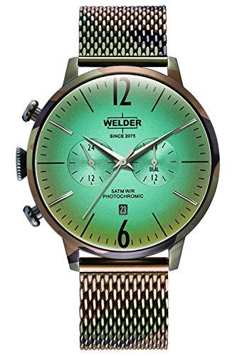 Reloj Welder WWRC1016 Smoothy Hombre Verde Acero