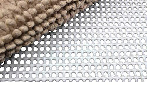 Moon Anti-Rutsch Matte Teppichunterlage Professional grau zuschneidbar, rutschfest und 60° waschbar (180x290)